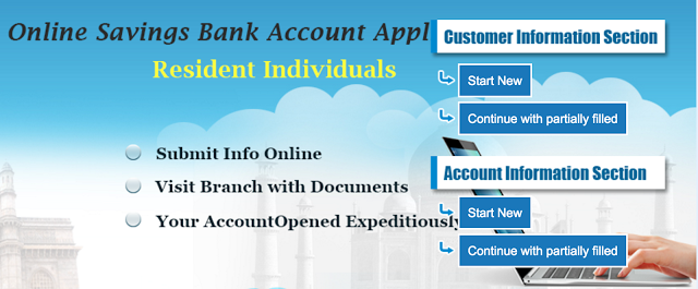 Apply for SBI Account Online