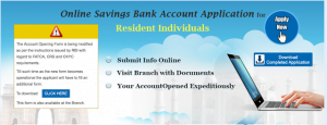 SBI Account Opening Form Online