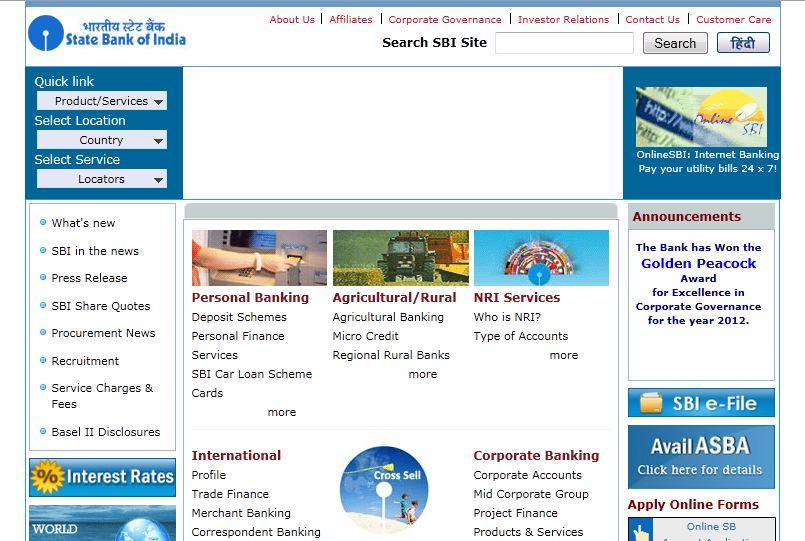 How to Generate SBI ATM Debit Card PIN? - OnlineSBI : SBI Net Banking Login @ onlinesbi.com