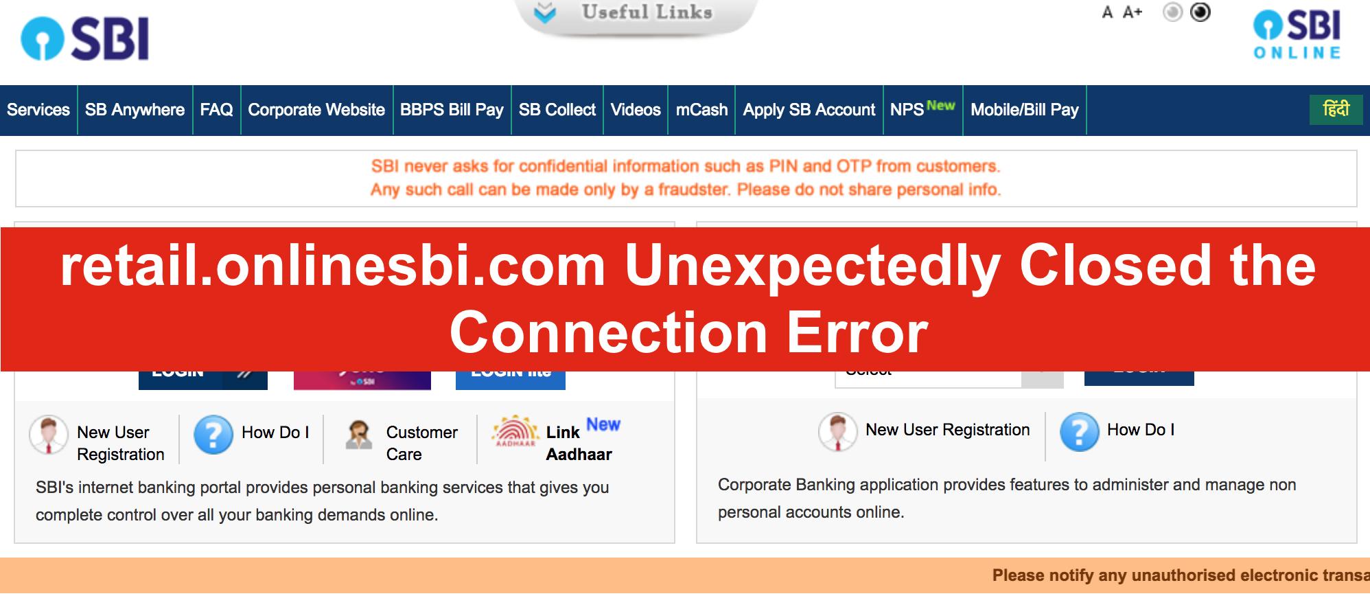 sbi internet banking/retail.login.com