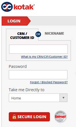 CRN and password